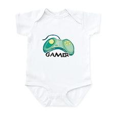 Gamer (Video Game Controller) Design Infant Bodysu