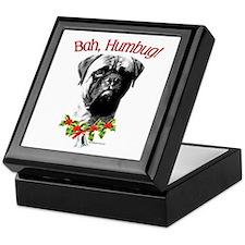 Bullmastiff Humbug Keepsake Box