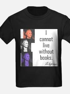 Books: Ash Grey T-Shirt