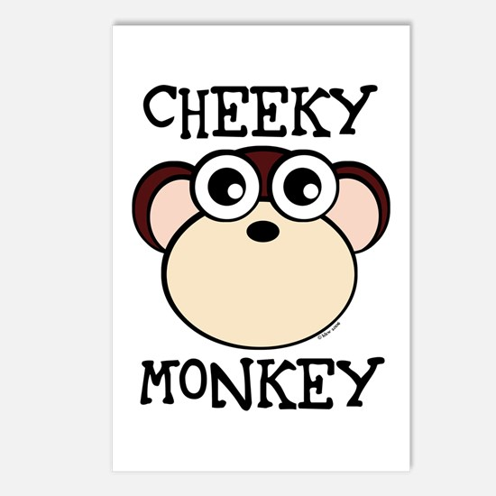CHEEKY MONKEY Postcards (Package of 8)