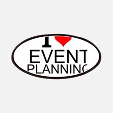 I Love Event Planning Patch