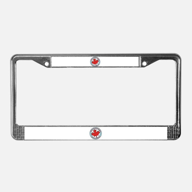 Get Canucked / License Plate Frame