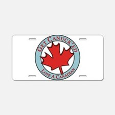 Get Canucked / Aluminum License Plate