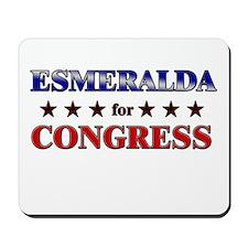 ESMERALDA for congress Mousepad