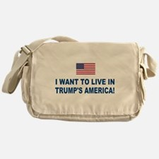 Trump's America Messenger Bag