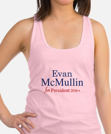 Evan McMullin For President Racerback Tank Top
