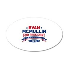 Evan McMullin For President 22x14 Oval Wall Peel