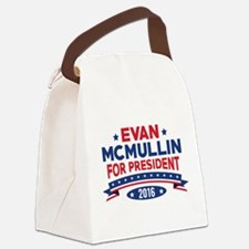 Evan McMullin For President Canvas Lunch Bag