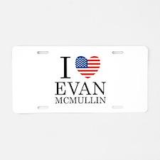 Evan McMullin For President Aluminum License Plate
