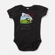 Funny goat Baby Bodysuit