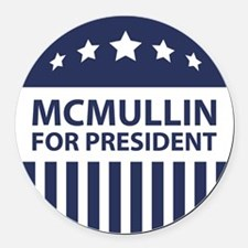 McMullin For President Round Car Magnet