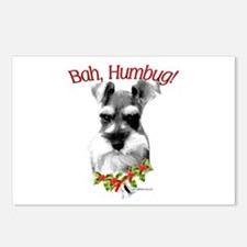 Std. Schnauzer Humbug Postcards (Package of 8)