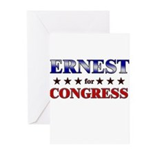 ERNEST for congress Greeting Cards (Pk of 20)