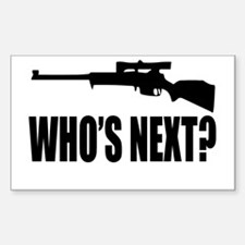 Who's Next? Rectangle Decal