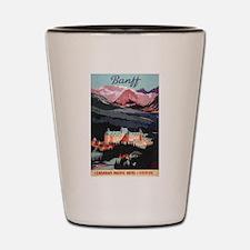 Banff, Canada - Banff Springs Hotel Shot Glass