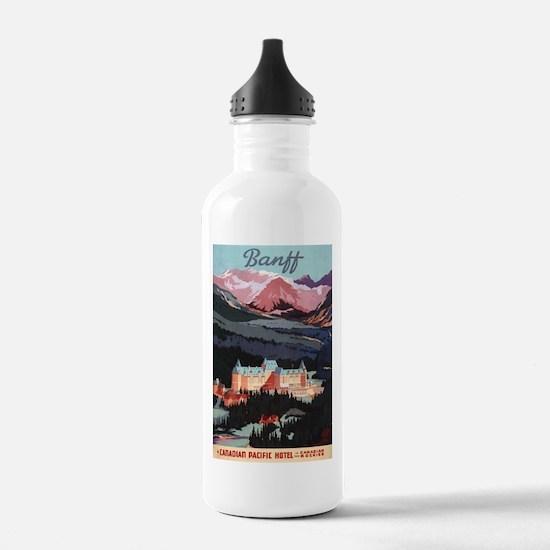 Banff, Canada - Banff Springs Hotel Water Bottle