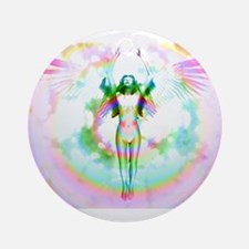 Body Of Light Version 3 Ornament (Round)