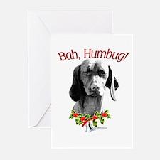 Vizsla Humbug Greeting Cards (Pk of 10)