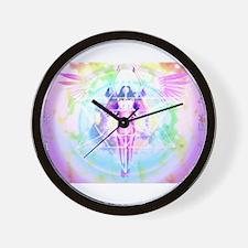 Body Of Light Version 4 Wall Clock
