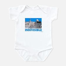 Israel Indivisible Infant Bodysuit