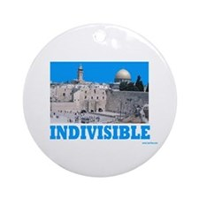 Israel Indivisible Ornament (Round)