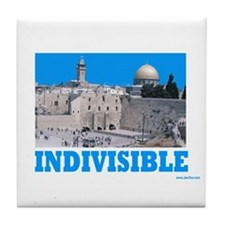 Israel Indivisible Tile Coaster