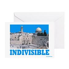 Israel Indivisible Greeting Card