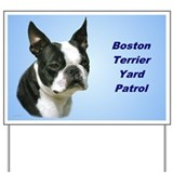 Boston terrier Yard Signs
