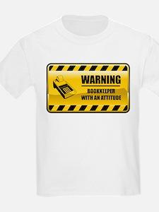 Warning Bookkeeper T-Shirt