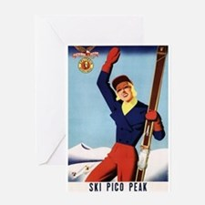 Flexible Flyer Skis Pin-Up Girl - Vintage Poster G