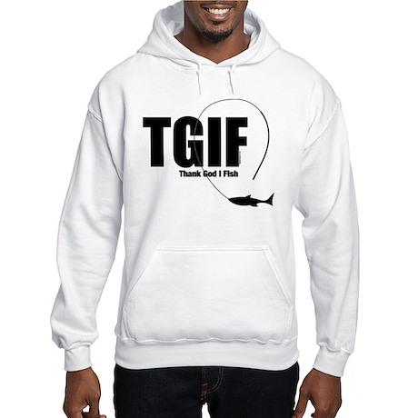 TGIF Fishing Hooded Sweatshirt