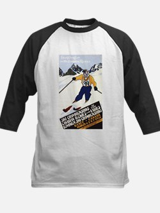 Banff, Canada - Ski Championships Baseball Jersey