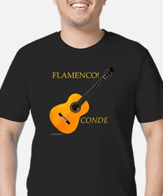 5 Conde Hermanos Flamenco Guitar T-Shirt