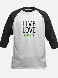 Live Love Raft Kids Baseball Jersey