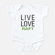 Live Love Raft Infant Bodysuit