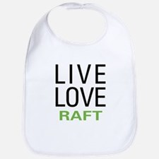 Live Love Raft Bib