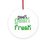 Geek FREAK Keepsake (Round)