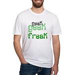 Geek FREAK Fitted T-Shirt