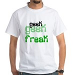 Geek FREAK White T-Shirt