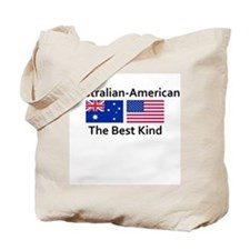 Australian American-the Best  Tote Bag