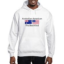 Australian American-the Best Hoodie