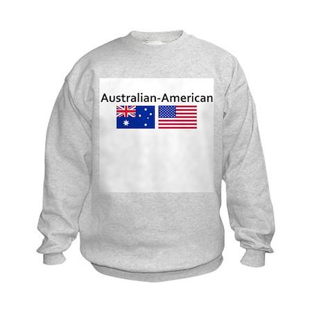 Australian American Kids Sweatshirt