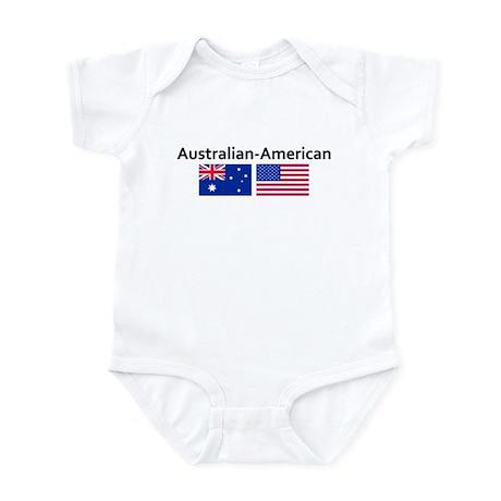 Australian American Infant Bodysuit