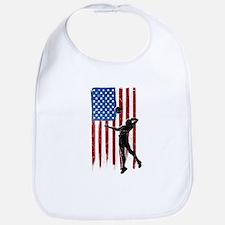 USA Flag Team Volleyball Bib