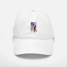 USA Flag Team Volleyball Baseball Baseball Cap