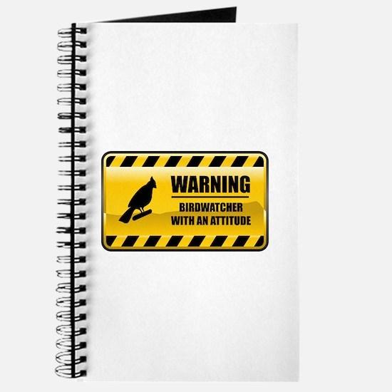 Warning Birdwatcher Journal