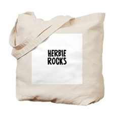 Herbie Rocks Tote Bag