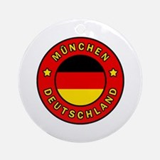 Cute Bayern munich Round Ornament