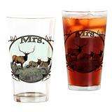 Elk Drinking Glass