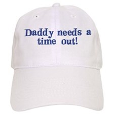 Daddy Time Out! Baseball Cap